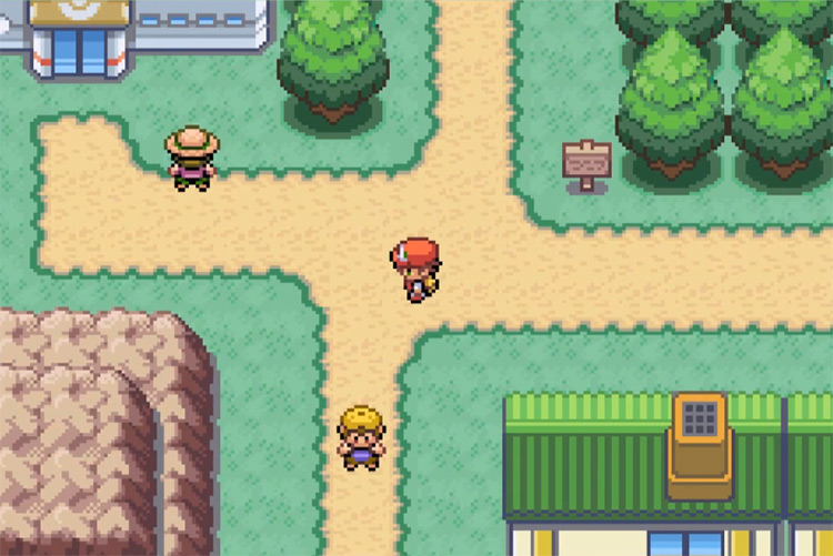 Pokémon Clover ROM Hack Screenshot