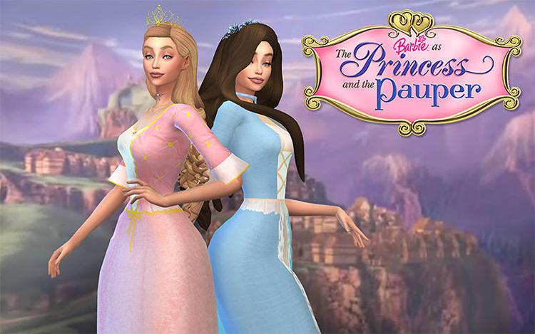 Princess & The Pauper / Sims 4 CC