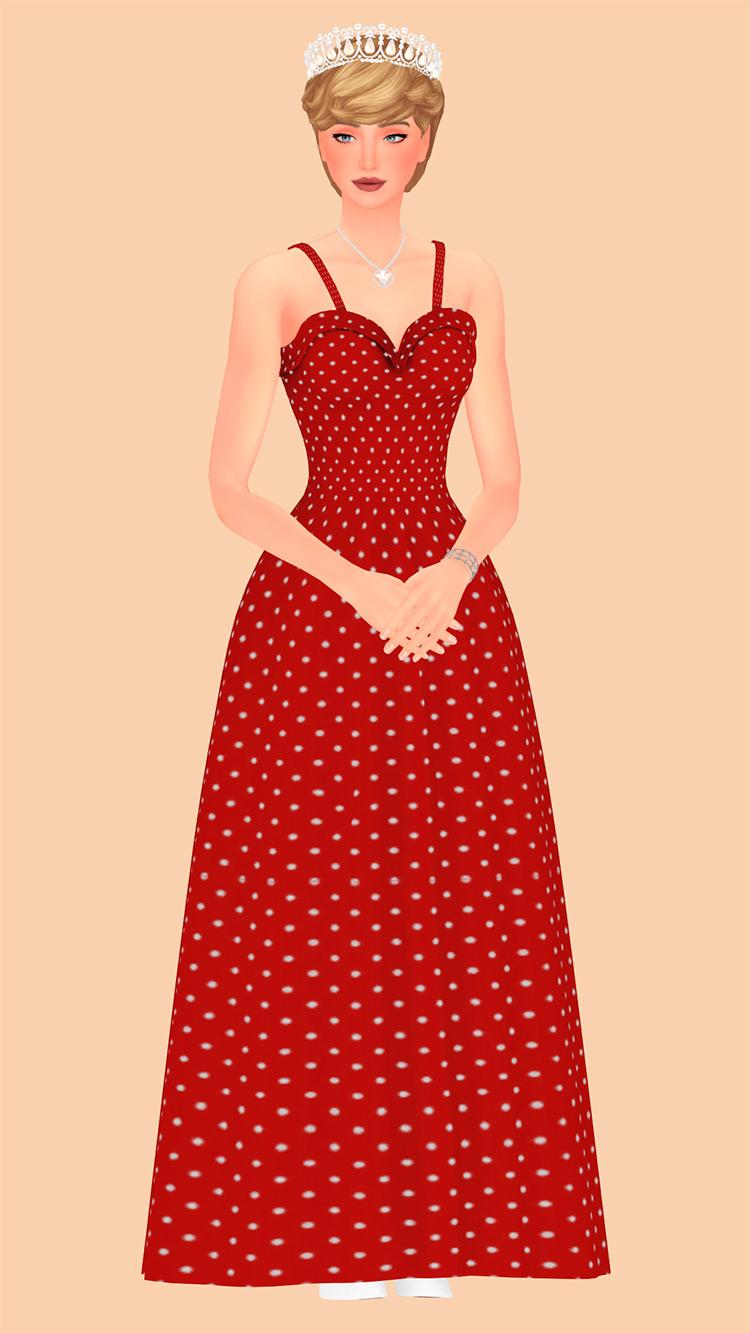 Princess of Wales / Sims 4 CC