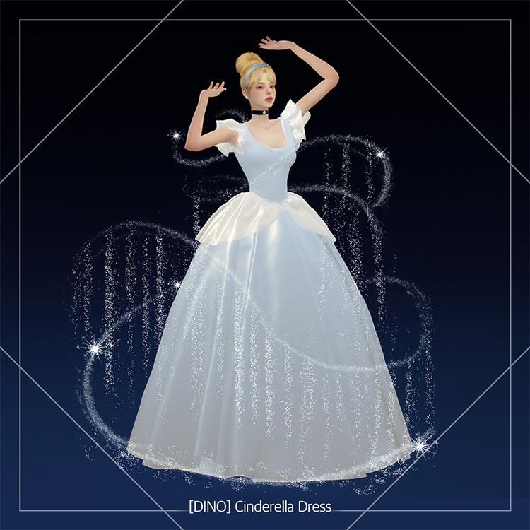 Cinderella Dress / Sims 4 CC