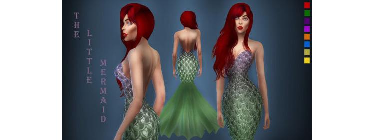Fairytale Dress / Sims 4 CC
