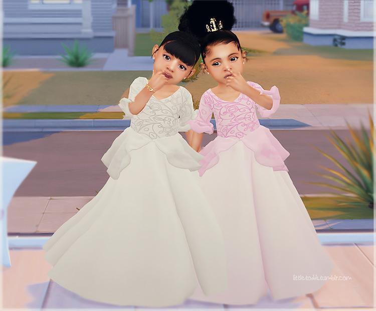 Elegant Princess Dress / TS4 CC