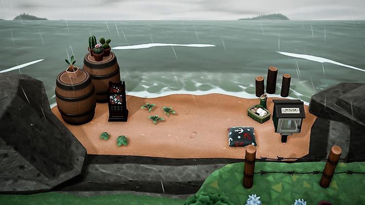 Idea for secret beach spot in ACNH