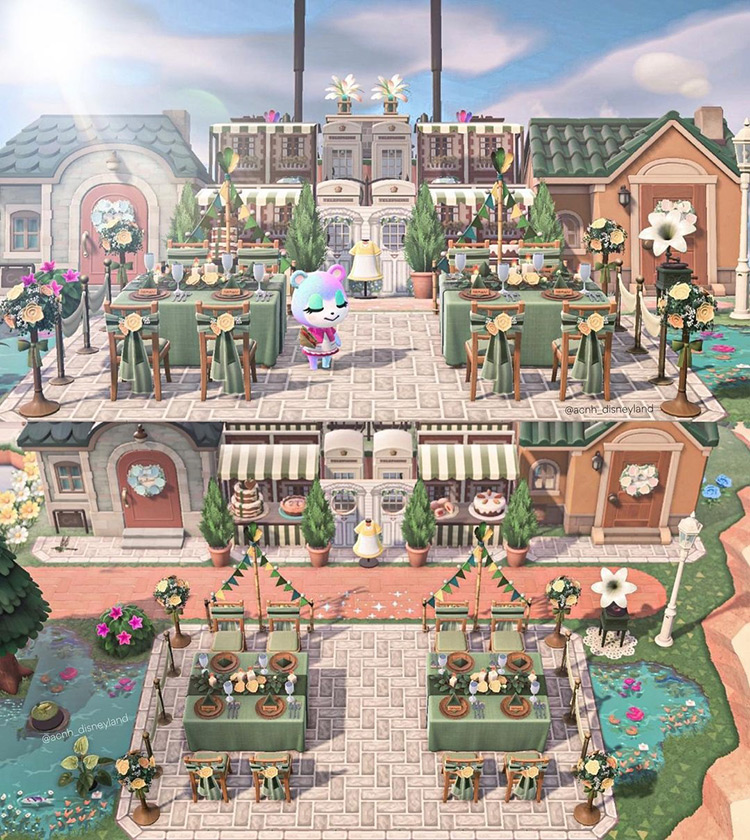Princess & The Frog Tiana's Place in Animal Crossing: New Horizons