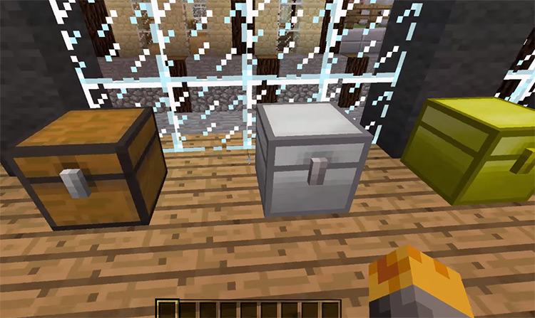 Iron Chest Preview / Minecraft Mod