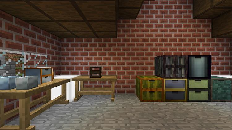 Storage Drawers Mod for Minecraft