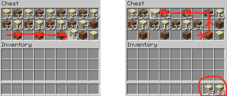 Mouse Tweaks Minecraft Mod Preview