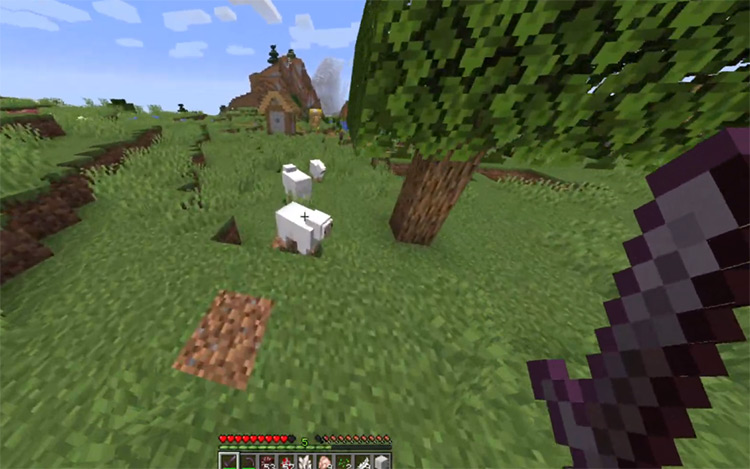 Clumps Orb Mod for Minecraft