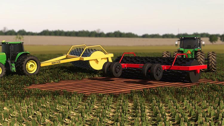 Lizard RF 180 Roller / Farming Simulator 19 Mod