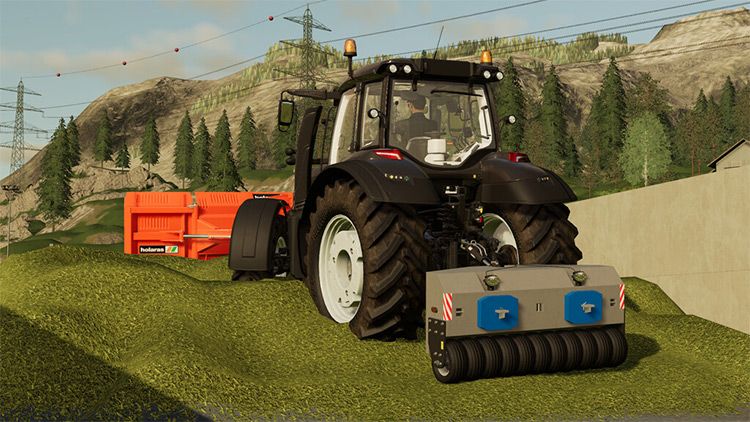 Silo Roller Weight Mod for FS19