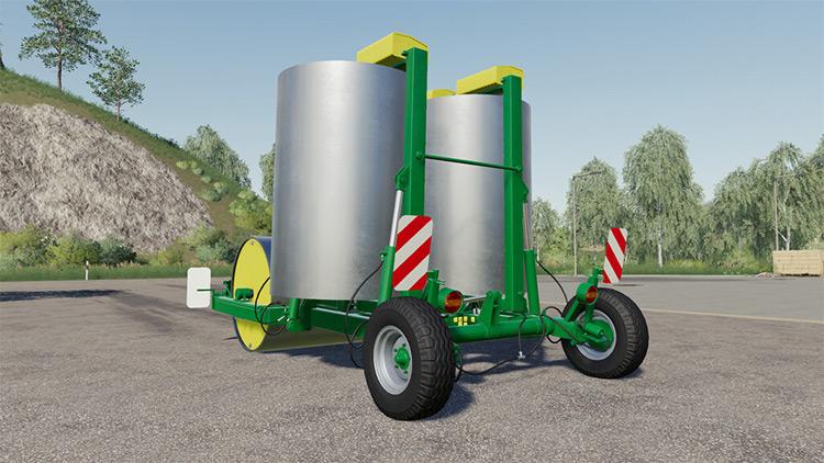 Heavy Meadow Rollers / FS19 Mod