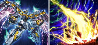 Divine Arsenal AA-Zeus & Lightning Storm YGO Cards