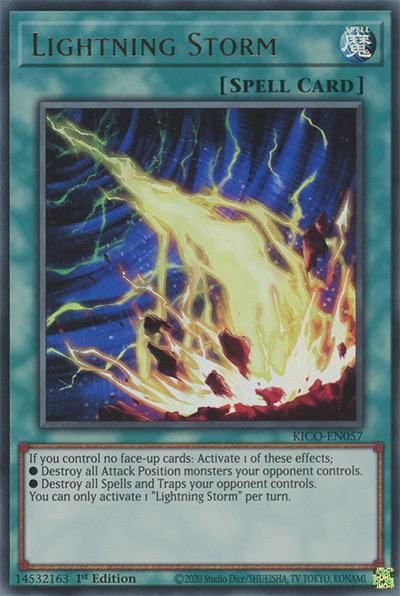 Lightning Storm YGO Card
