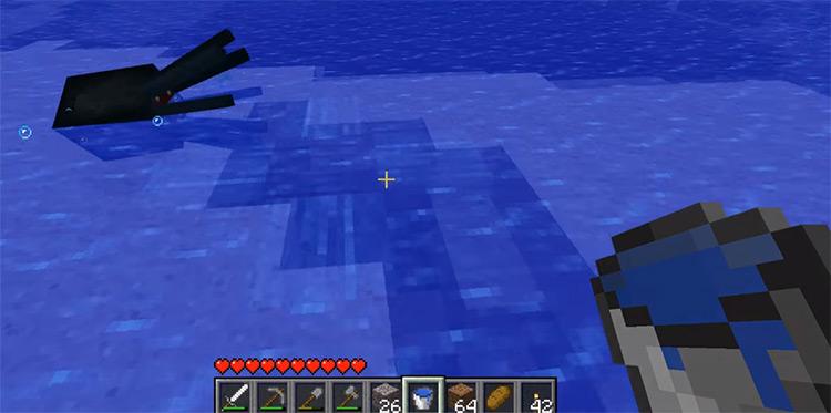SquidMilk / Black Squid in Minecraft