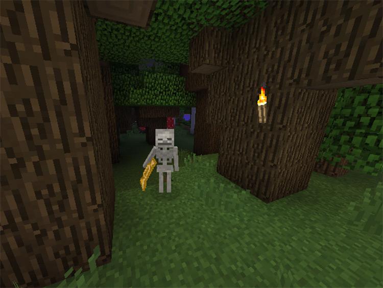Trumpet Skeleton Minecraft Mod Preview
