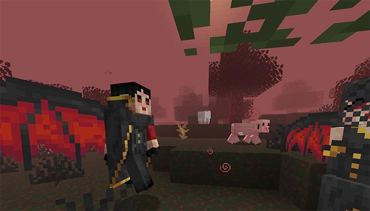 Vampirism Mod / Minecraft Screenshot Preview