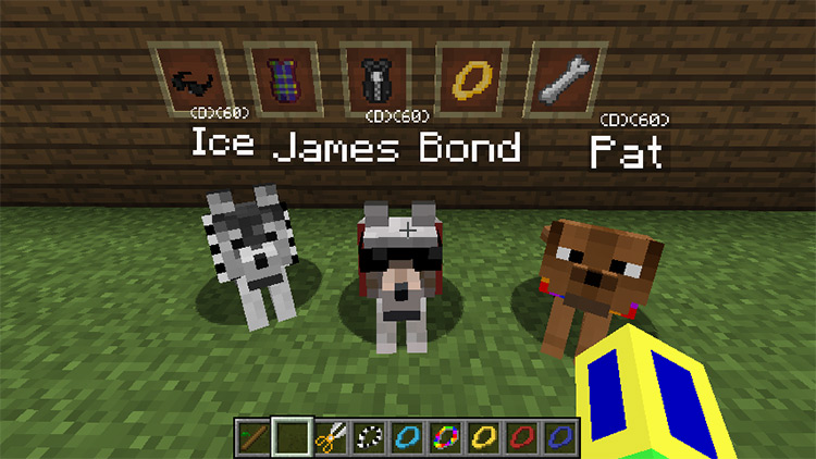 Doggy Talents / Minecraft Mod Preview