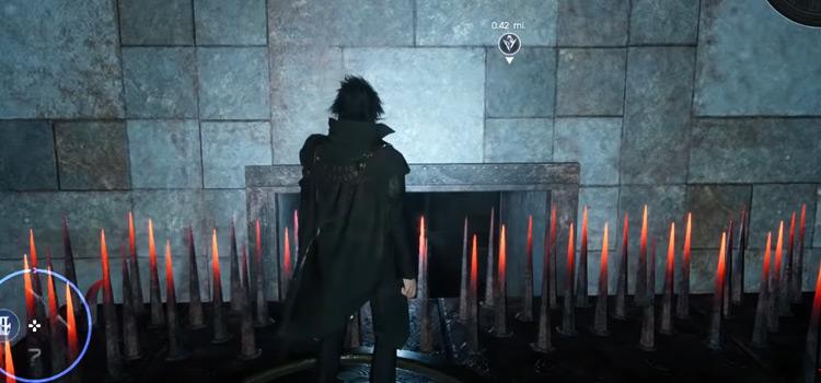 Pitioss Ruins in FFXV / Screenshot