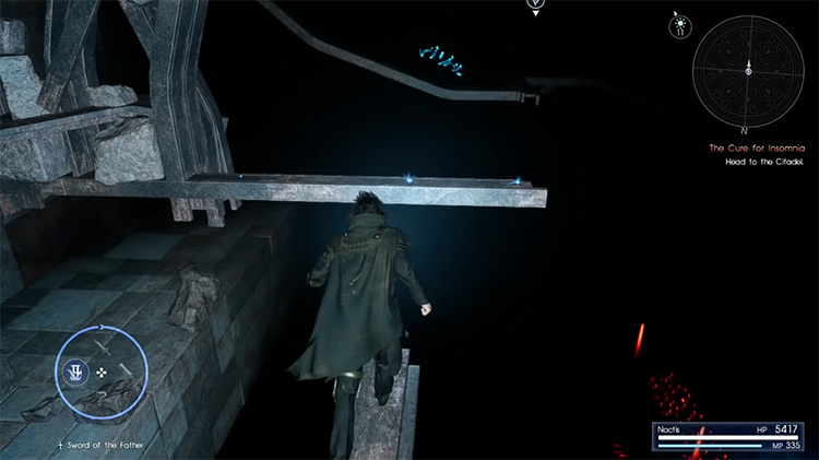 Pitioss Ruins Dungeon in FF15