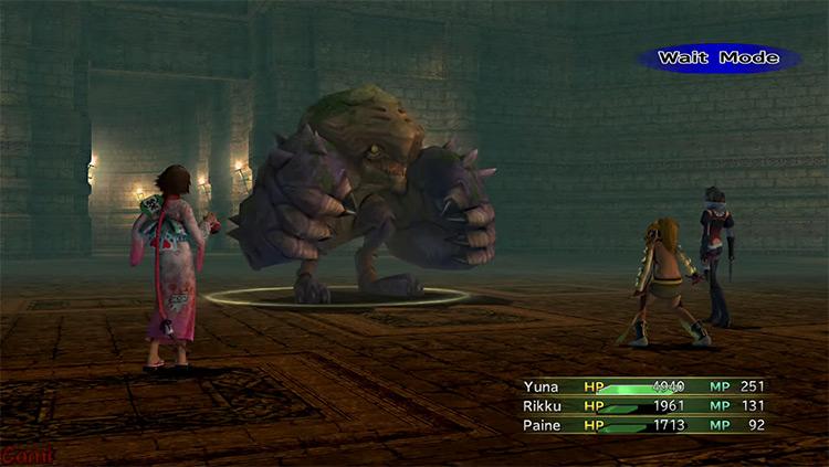 Heavy Sallet in Final Fantasy X-2