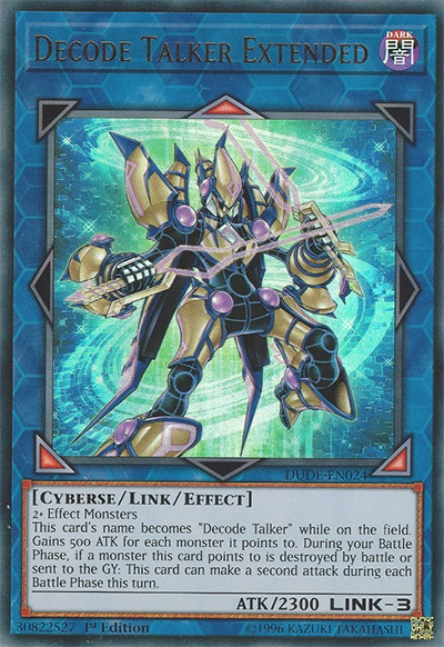 Decode Talker Extended Yu-Gi-Oh Card