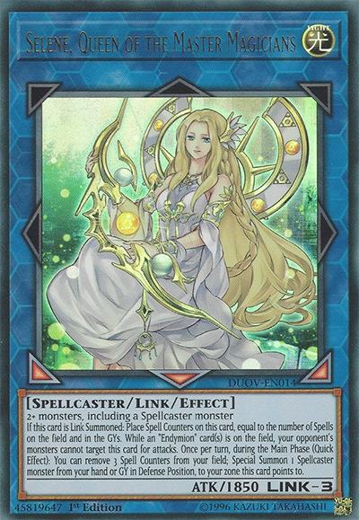Selene, Queen of the Master Magicians YGO Card