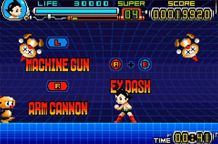 Astro Boy: Omega Factor / GBA gameplay