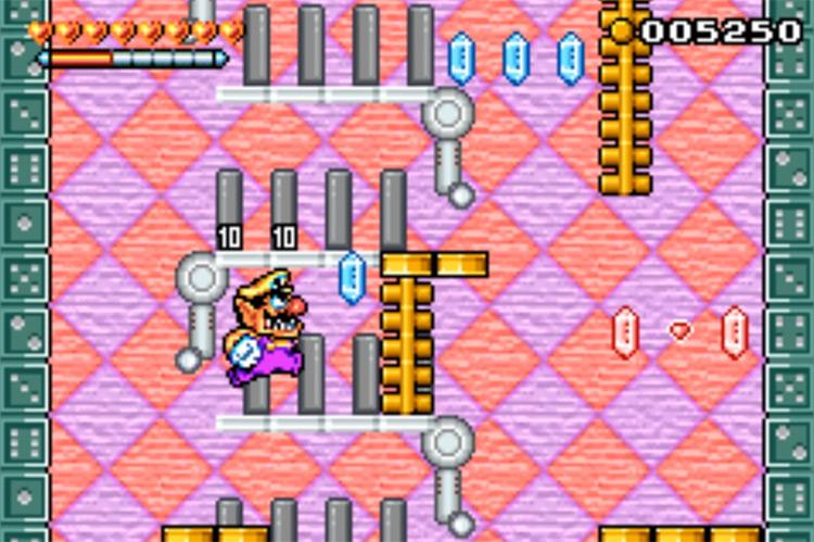 Wario Land 4 / GBA screenshot