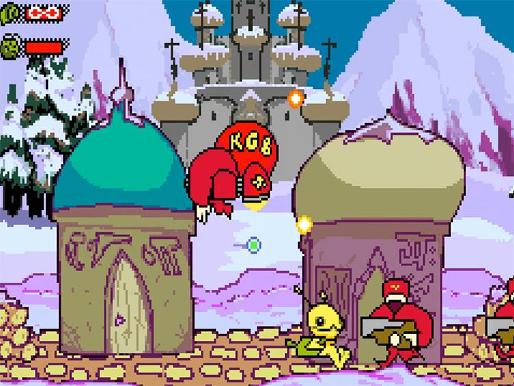 Alien Hominid for Game Boy Advance