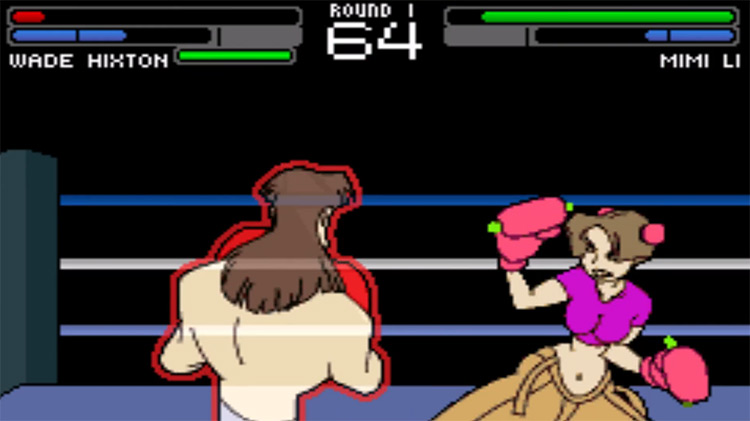 Wade Hixton's Counter Punch / GBA gameplay