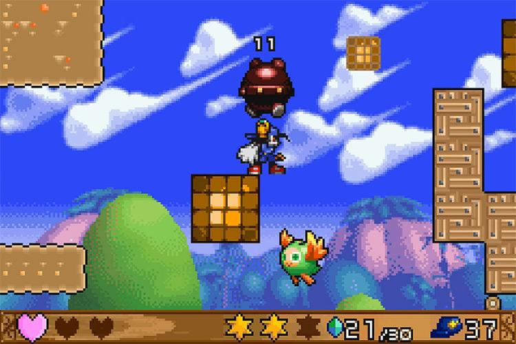 Klonoa: Empire of Dreams for Game Boy Advance