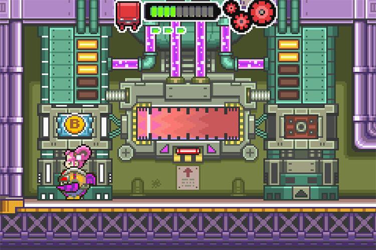 Drill Dozer / GBA screenshot