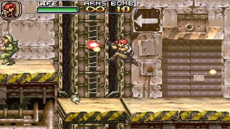 Metal Slug Advance gameplay screenshot