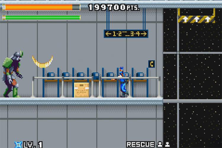 Ninja Five-O for Game Boy Advance