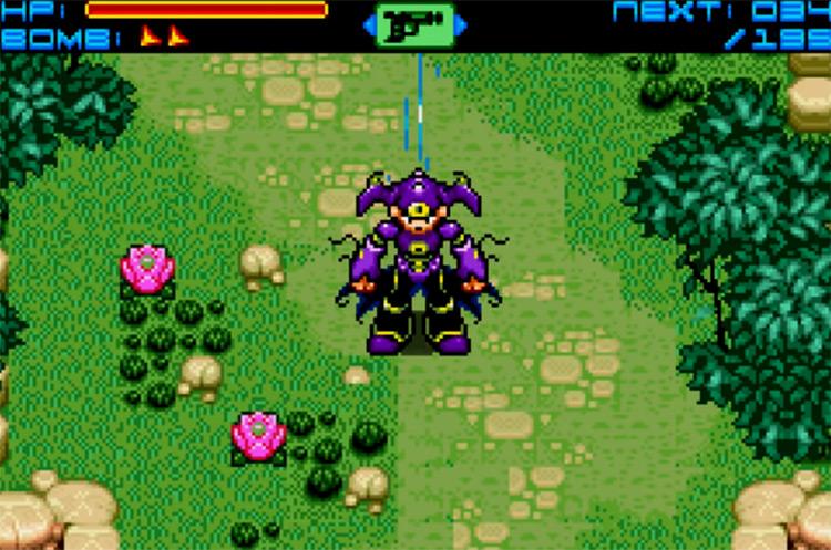 Sigma Star Saga / GBA screenshot