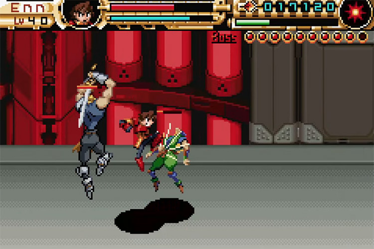 Advance Guardian Heroes / game screenshot