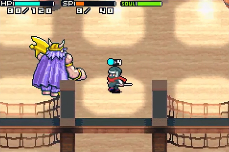 Shining Soul II GBA screenshot