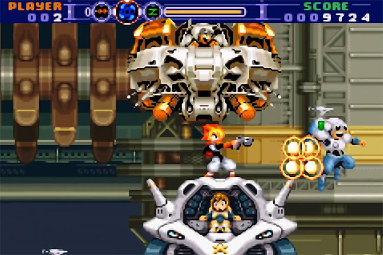 Gunstar Super Heroes for Game Boy Advance