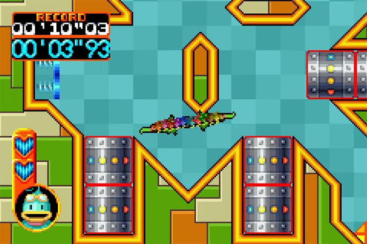 Kuru Kuru Kururin game screenshot