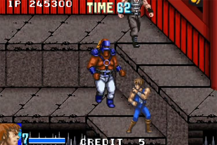 Double Dragon Advance / GBA gameplay screenshot