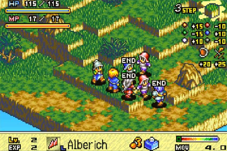 Tactics Ogre: The Knight of Lodis / game screenshot