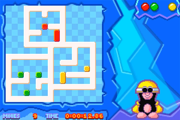 Denki Blocks! GBA gameplay