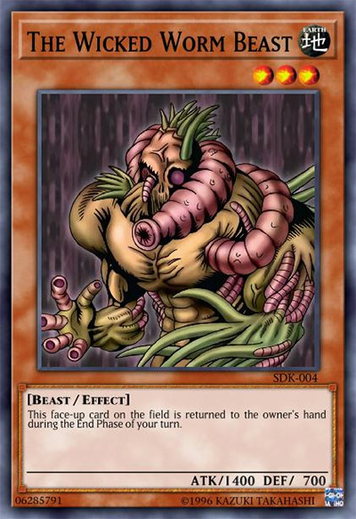 The Wicked Worm Beast Yu-Gi-Oh Card