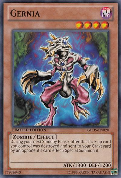 Gernia Yu-Gi-Oh Card