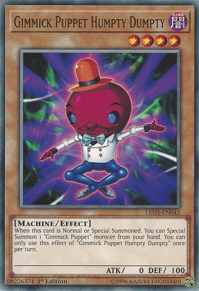Gimmick Puppet Humpty Dumpty Yu-Gi-Oh Card