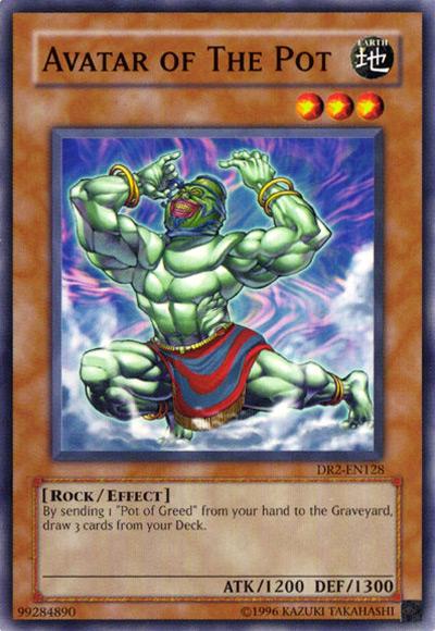Avatar of the Pot YGO Card