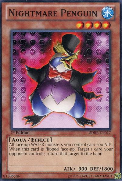 Nightmare Penguin Yu-Gi-Oh Card