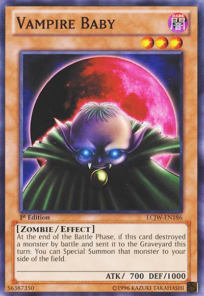 Vampire Baby YGO Card