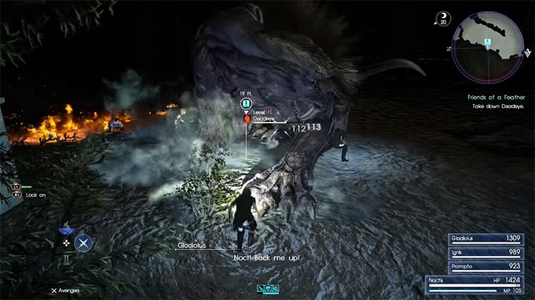 A Behemoth Undertaking / Deadeye Hunt in FFXV