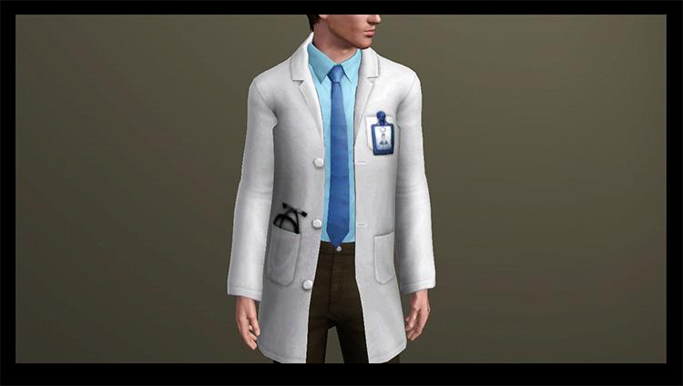 Doctor's Coats TS4 CC Set